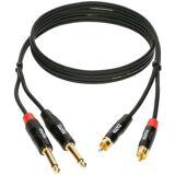 Klotz KT-CJ150 RCA Phono - Jack Cable 1,5m