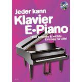 Schott Music Jeder kann Klavier/ E-Piano Buch und CD