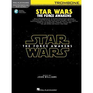 Hal Leonard Instrumental Play-Along: Star Wars - The Force Awakens - Trombone