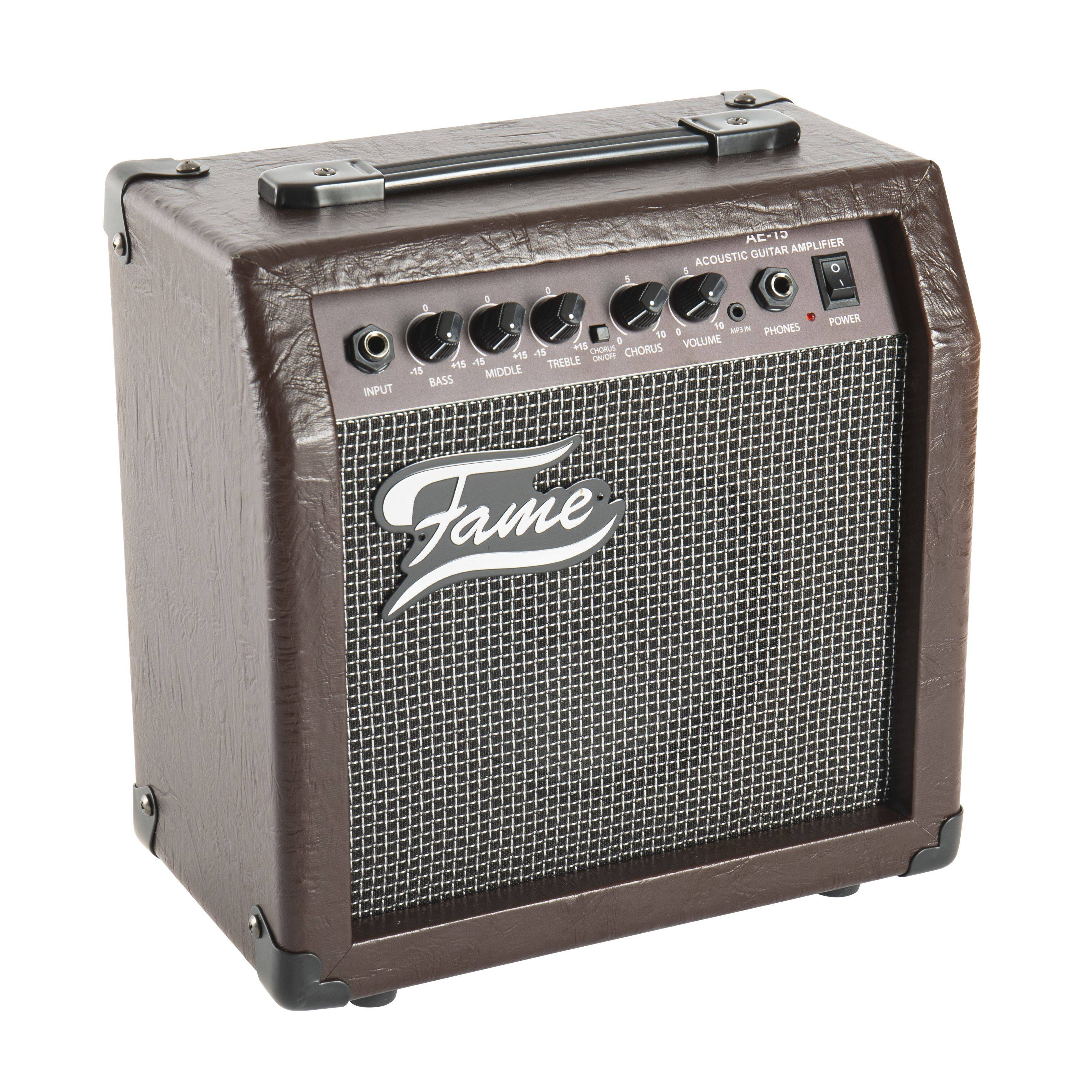 Fame AE-15 Acoustic Guitar Combo Amplifier