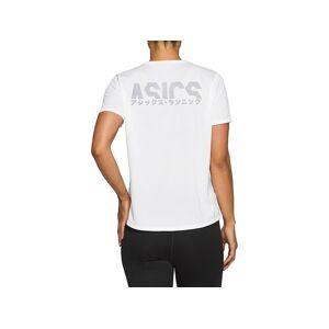 ASICS KATAKANA SS TOP - BRILLIANT WHITE - Size: Large