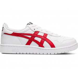 ASICS JAPAN S GS - WHITE/CLASSIC RED - Size: 3