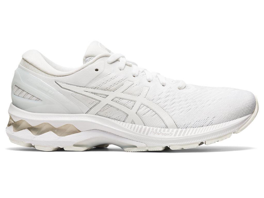 ASICS GEL-KAYANO 27 - WHITE/WHITE - Size: 7.5