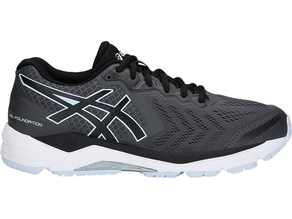 ASICS GEL-FOUNDATION™ 13 - DARK GREY/BLACK - Size: 9.5