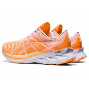 ASICS NOVABLAST - ORANGE POP/WHITE - Size: 10