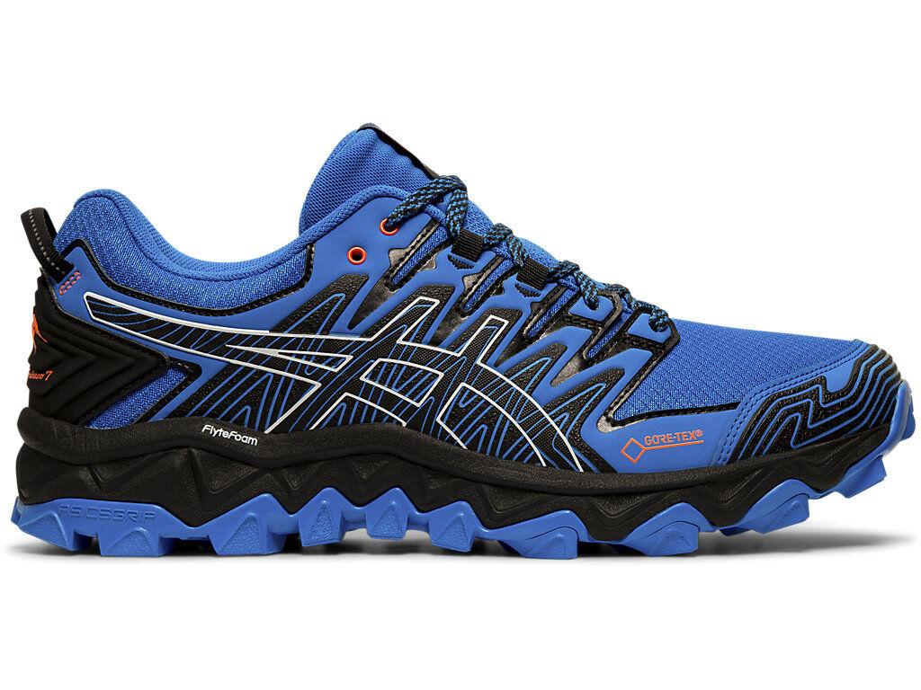 ASICS GEL-FUJITRABUCO 7 G-TX - ELECTRIC BLUE/BLACK - Size: 9H