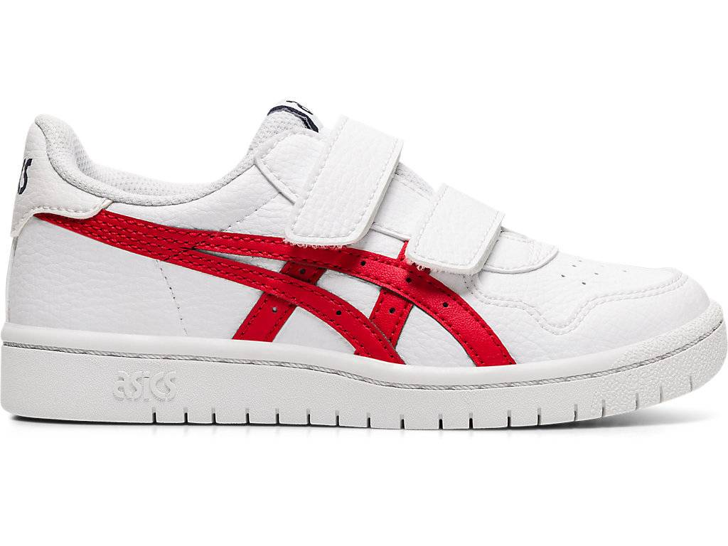 ASICS JAPAN S PS - WHITE/CLASSIC RED - Size: 1