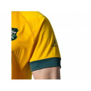 ASICS WB HOME GAMEDAY JERSEY REPLICA M - WALLABIES GOLD - Size: 3X-Large