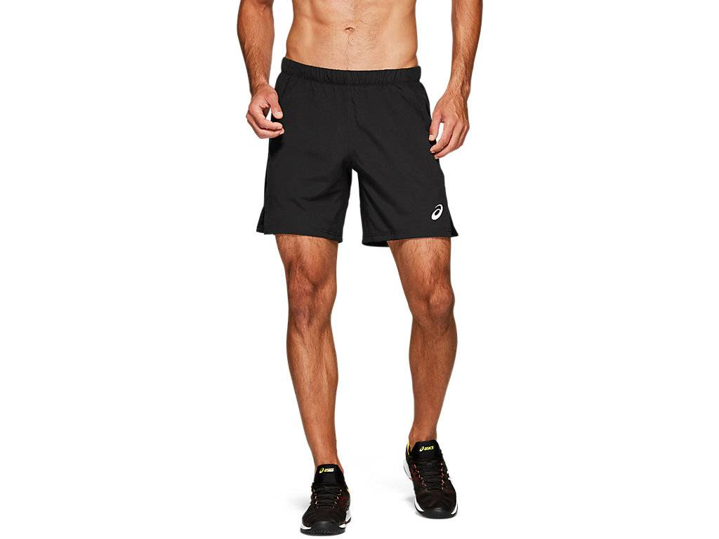 ASICS TENNIS 7IN SHORT - PERFORMANCE BLACK - Size: Small