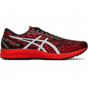 ASICS GEL-DS TRAINER 25 - FIERY RED/WHITE - Size: 8.5