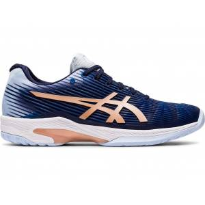 ASICS SOLUTION SPEED™ FF - PEACOAT/ROSE GOLD - Size: 6