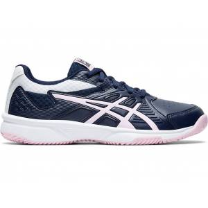 ASICS COURT SLIDE CLAY - PEACOAT/COTTON CANDY - Size: 9