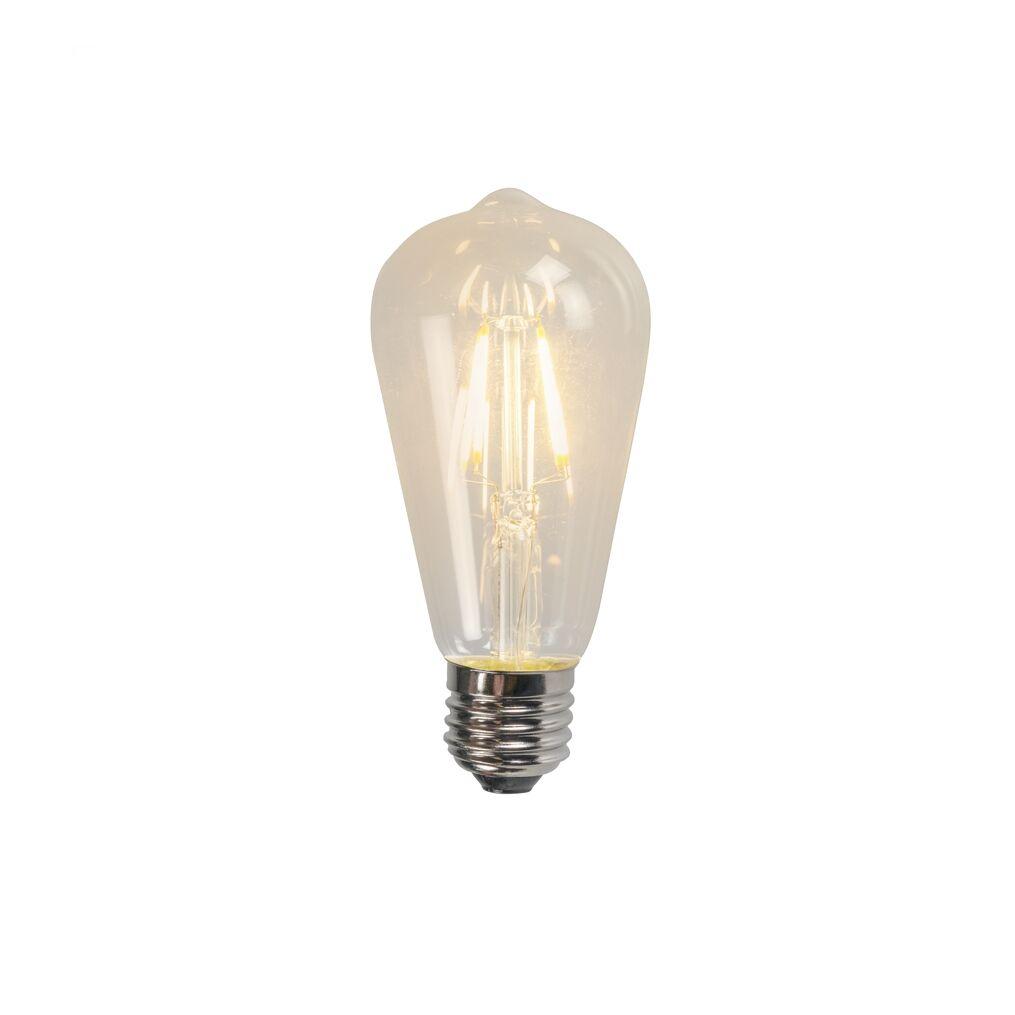 LUEDD E27 LED ST64 Clear Filament 4W 470LM 2700K