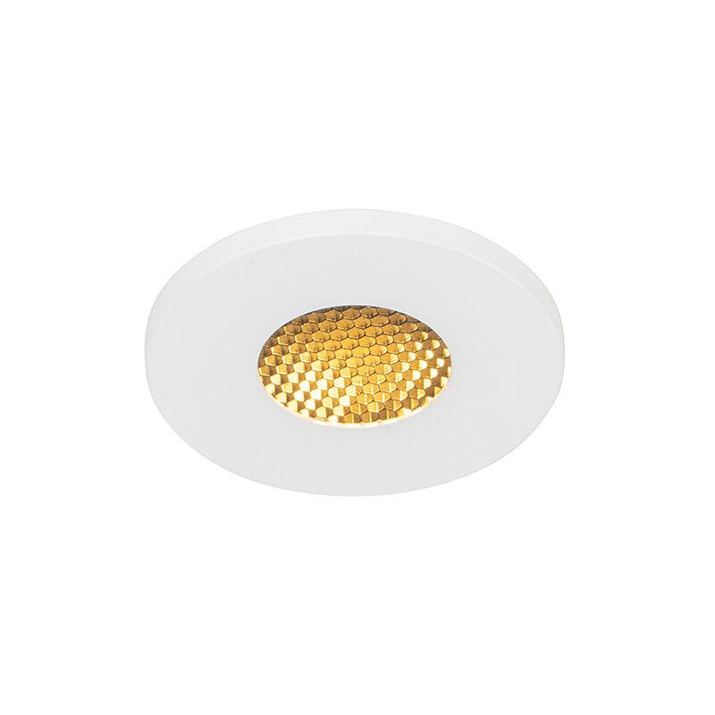 QAZQA Modern bathroom recessed spot white IP54 - Shed Honey