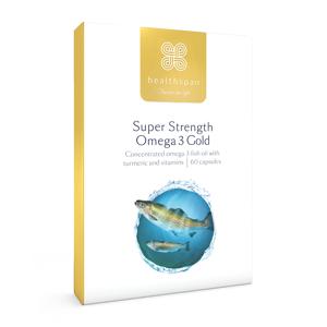Healthspan Super Strength Omega 3 1,200mg - 60 Capsules