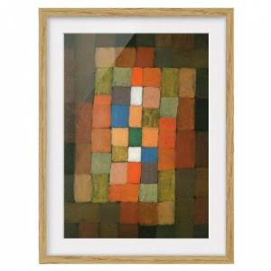 East Urban Home 'Static-Dynamic Increase' by Paul Klee Framed Painting East Urban Home  - Size: Mini (Under 40cm High)