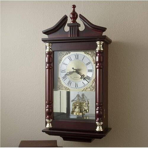 Rosalind Wheeler Bell Haven Silent Wall Clock Rosalind Wheeler
