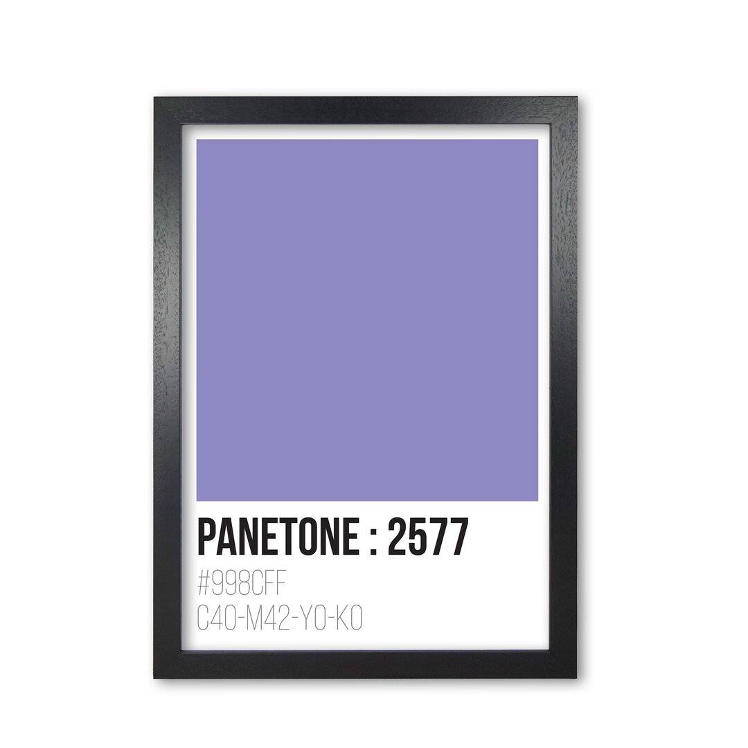 East Urban Home Framed Textual Art by Pixy Paper - Picture Frame Typography Print on Paper - Size: 59.4 H x 42.0 W x 3.0 D cm