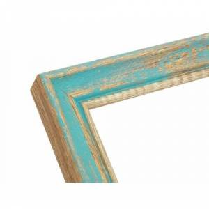 """Beachcrest Home Finlay Picture Frame Beachcrest Home Colour: Blue, Size: 16"""" x 24""""  - Blue - Size: 16"""" x 24"""""""