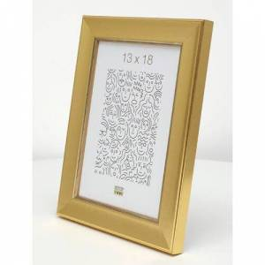 Canora Grey Blacfore Picture Frame Canora Grey Size: 30x40  - Gold - Size: 30x40