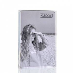"""XLBoom Acrylic Magnetic Picture Frame XLBoom Size: 8"""" x 12""""  - Clear - Size: 8"""" x 12"""""""