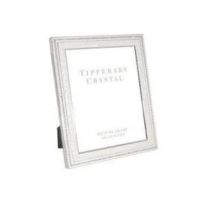 Tipperary Crystal Picture Frame Tipperary Crystal Size: 23.5cm H x 18cm W x 1.5cm D  - Silver - Size: 23.5cm H x 18cm W x 1.5cm D