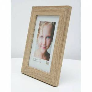 17 Stories Parksley Picture Frame 17 Stories Size: 65cm H x 45cm W x 1.4cm D  - Beige - Size: 65cm H x 45cm W x 1.4cm D