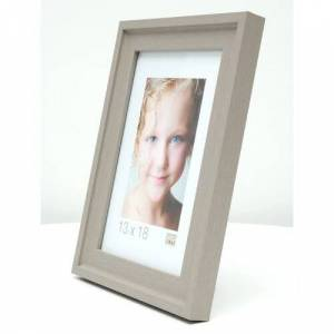 17 Stories Mineral Picture Frame 17 Stories Colour: Beige, Size: 44cm H x 44cm W x 1.8cm D  - Size: 28cm H x 22cm W x 1.8cm D