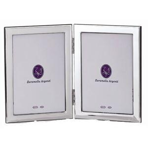 Zaramella Argenti King and Queen Double Picture Frame Zaramella Argenti  - Silver - Size: 9cm -25cm H X 6cm -20cm B