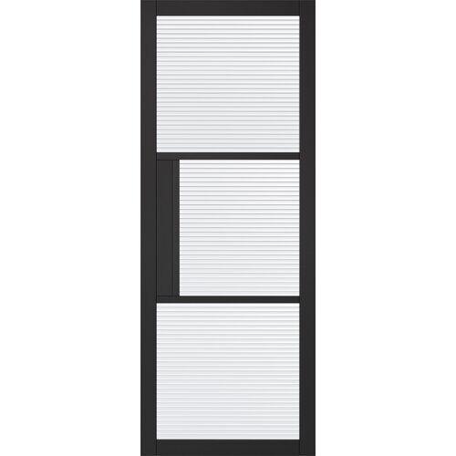 LPD Doors Tribeca Internal Door Primed LPD Doors Door Size: 1981mm H x 762mm W x 35mm D  - Size: 1981mm H x 1372mm W x 40mm D
