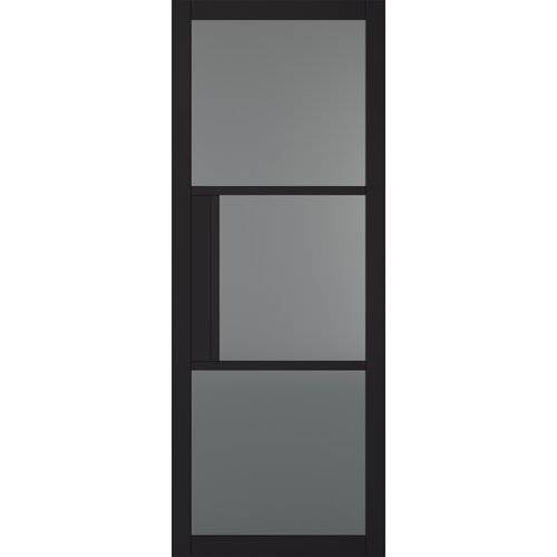 LPD Doors Tribeca Internal Door Primed LPD Doors Door Size: 1981mm H x 838mm W x 35mm D  - Size: 1981mm H x 762mm W x 44mm D