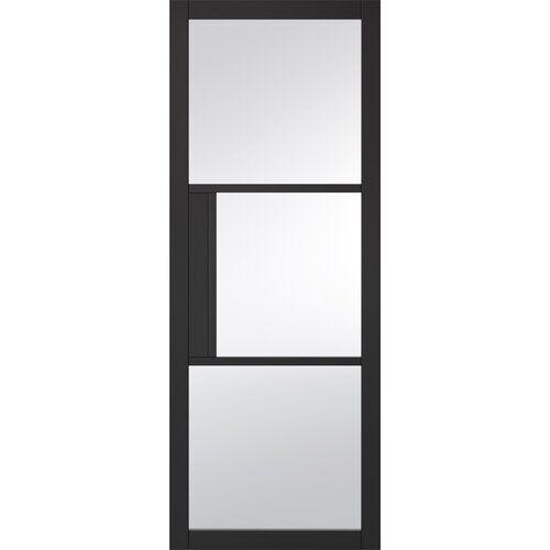 LPD Doors Tribeca Internal Door Primed LPD Doors Door Size: 1981mm H x 762mm W x 35mm D  - Size: 1981mm H x 838mm W x 44mm D
