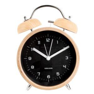 Karlsson Classic Bell XL Alarm Tabletop Clock - Size: 21.0 H x 14.0 W x 8.0 D cm