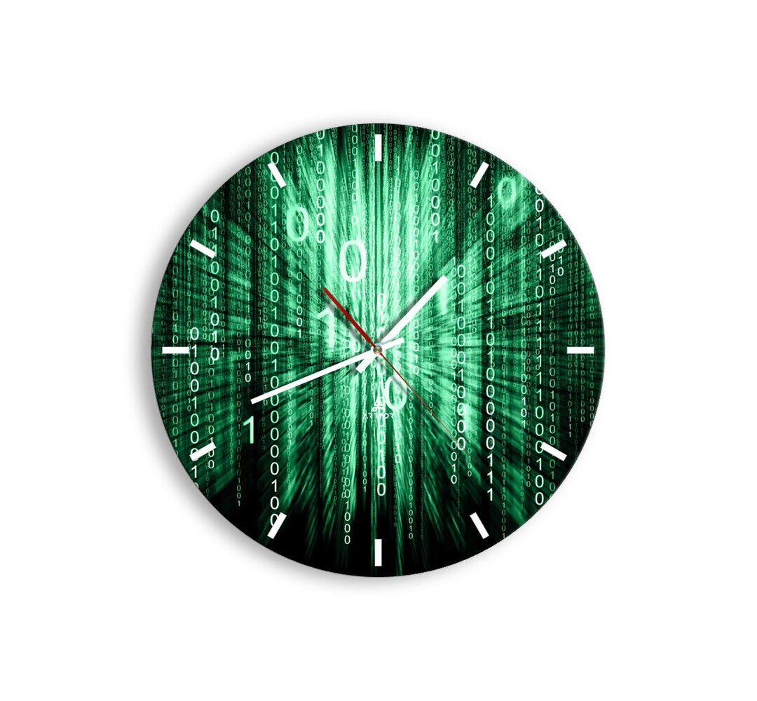 Brayden Studio Dominika Silent Wall Clock  - Size: 198.1 H x 83.8 W cm