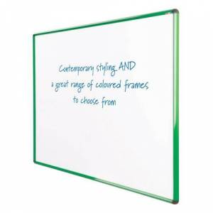 Symple Stuff Wall Mounted Whiteboard Symple Stuff Size: 120cm H x 240cm W, Colour: Green  - Green - Size: 120cm H x 240cm W