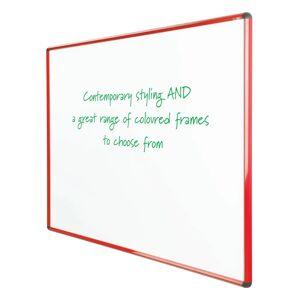 Symple Stuff Magnetic Whiteboard  - Size: 100.0 H x 90.0 W x 0.03 D cm