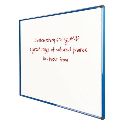 Symple Stuff Wall Mounted Whiteboard Symple Stuff Size: 120cm H x 120cm W, Colour: Blue  - Size: 90cm H x 120cm W