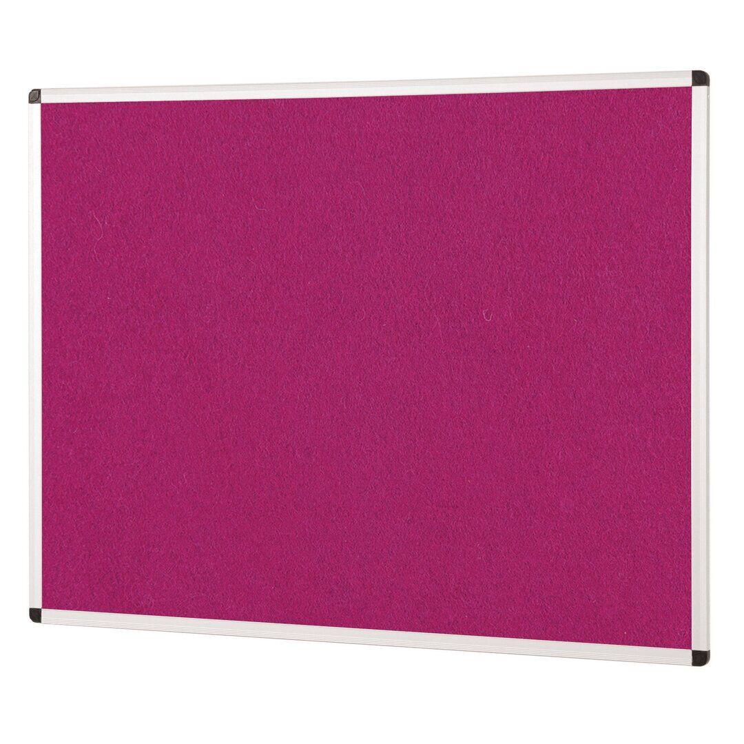 Symple Stuff Wall Mounted Bulletin Board  - Size: 740.0 H x 85.0 W x 520.0 D cm