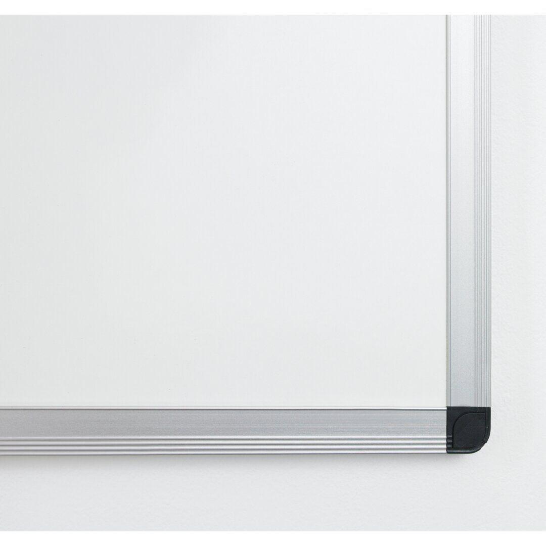 Symple Stuff Olivia-Grace Wall Mounted Whiteboard  - Size: 126.0 H x 93.0 W x 1.0 D cm