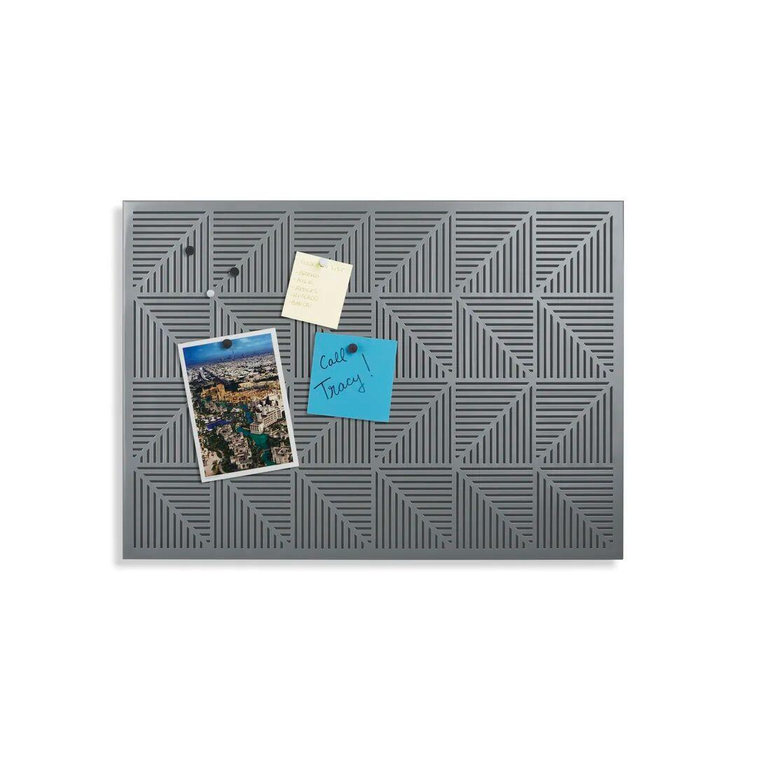 Umbra Trigon Magnetic Bulletin Board 38cm H  - Size: 750.0 H x 100.0 W x 0.21 D cm