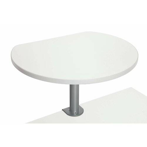Symple Stuff Clamp-On Desk Shelf Symple Stuff  - Size: 50cm H X 60cm B X 51cm T