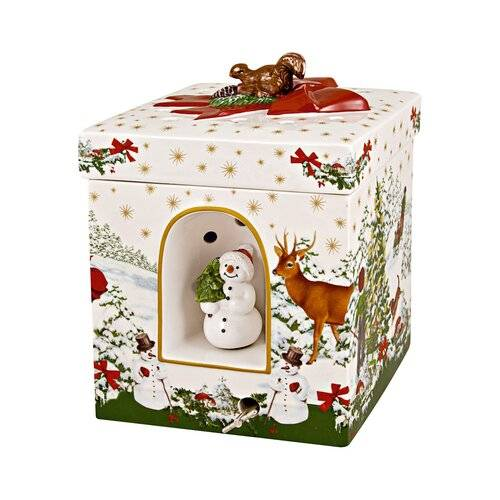 Villeroy & Boch Christmas Toys gift. Gr. Square, Christmas Tree Villeroy & Boch  - Size: 20cm H X 29cm W X 21cm D