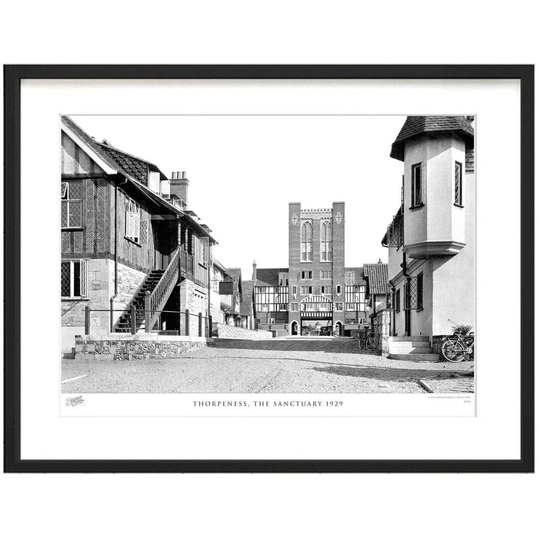The Francis Frith Collection 'Thorpeness, the Sanctuary 1929' by Francis Frith - Picture Frame Photograph Print on Paper  - Size: Rectangle 80 x 121cm