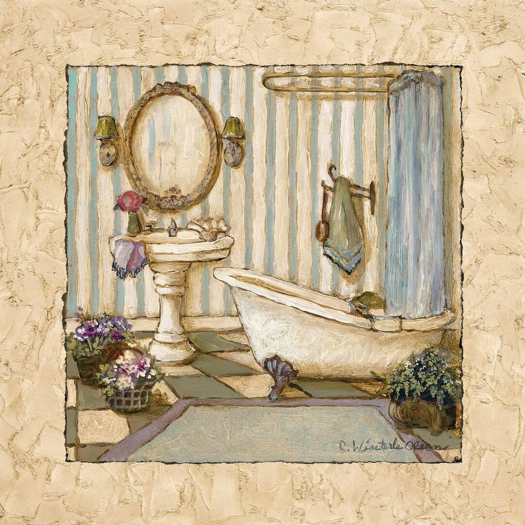 Brambly Cottage 'Her Sanctuary II' - Unframed Painting Print on Paper  - Size: 93.0 H x 126.0 W x 1.0 D cm
