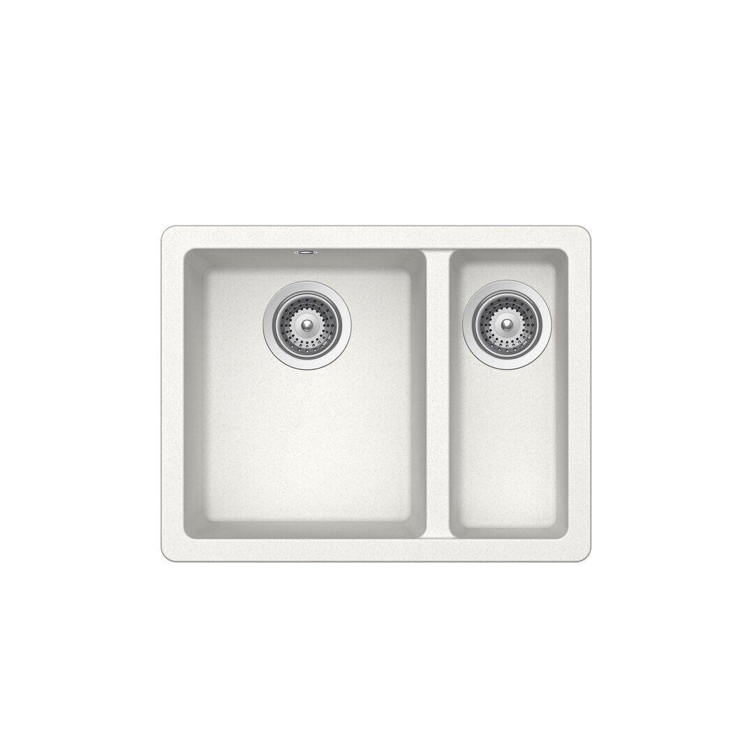 Schock Quadro Single Bowl Undermount Kitchen Sink  - Size: 93.0 H x 126.0 W x 1.0 D cm