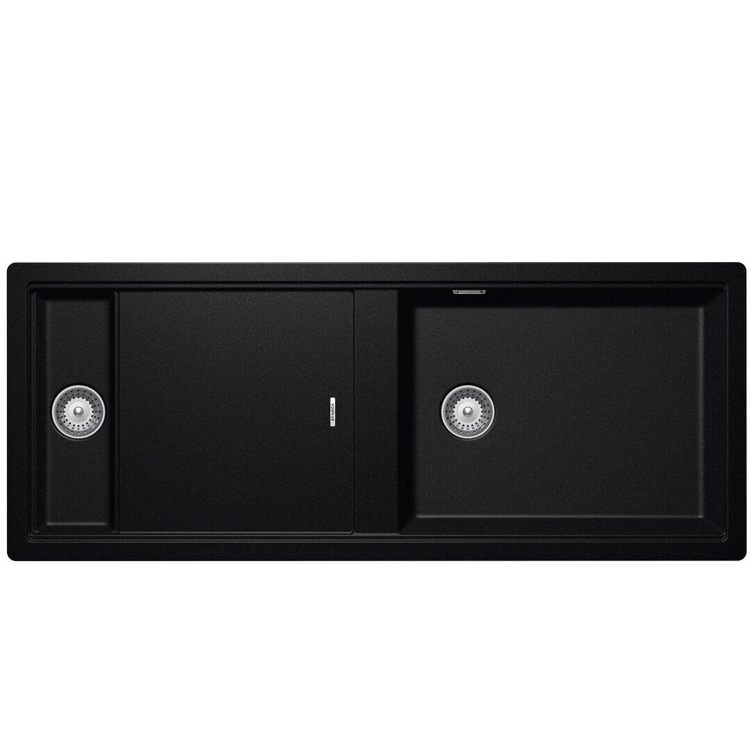 Schock Prepstation Single Bowl Inset Kitchen Sink  - Size: 93.0 H x 126.0 W x 1.0 D cm
