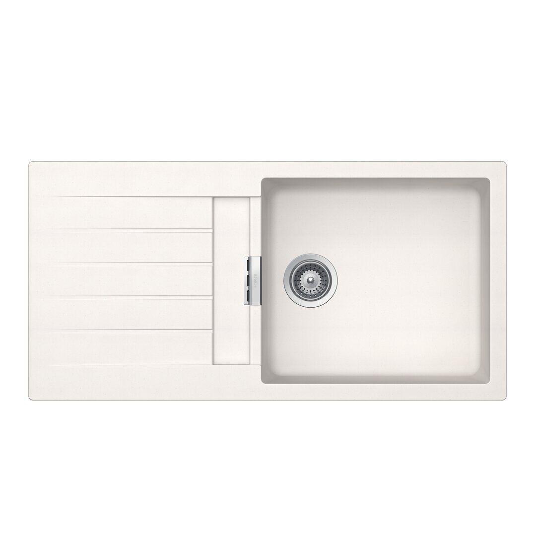 Schock Signus Single Bowl Inset Kitchen Sink  - Size: 52.0 H x 90.0 W x 40.0 D cm