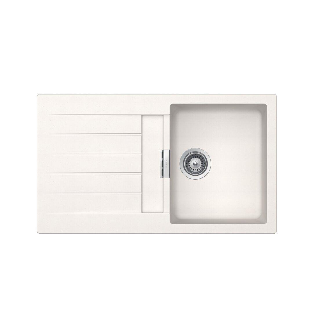 Schock Signus Single Bowl Inset Kitchen Sink  - Size: 50.8 H x 152.4 W x 3.81 D cm