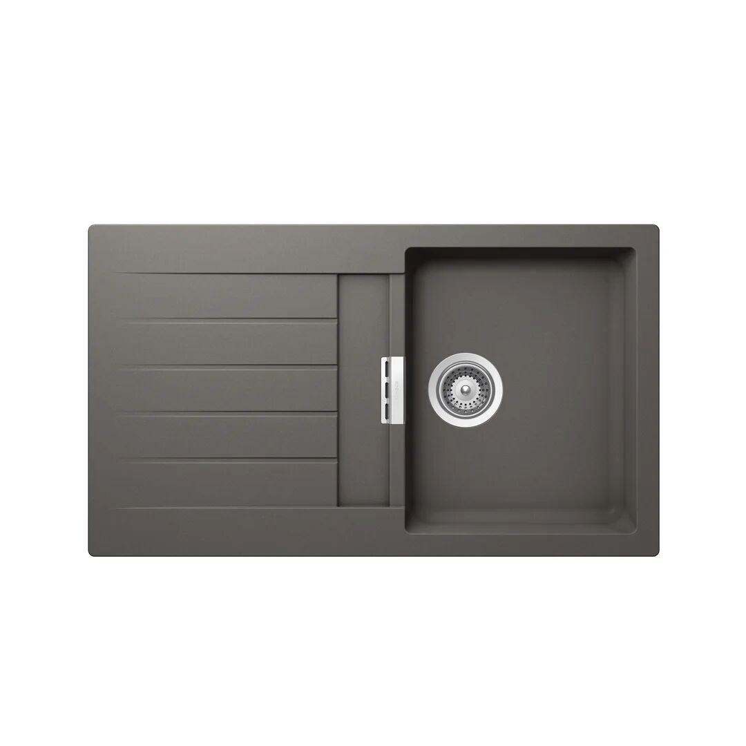 Schock Signus Single Bowl Inset Kitchen Sink  - Size: 59.0 H x 42.0 W cm