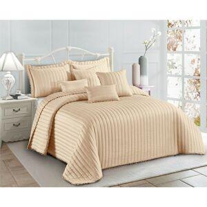 Ebern Designs Willmot Bedspread Set with Pillowcase - Size: 240.0 H x 240.0 W x 2.0 D cm
